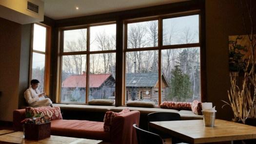 Winter Activities at Blue Mountain Scandinave Spa
