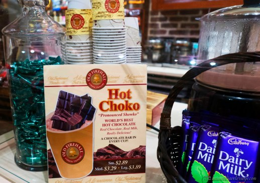 Old Firehall Confectionery: Ultimate Chocolate Desserts Store - Hot Choko