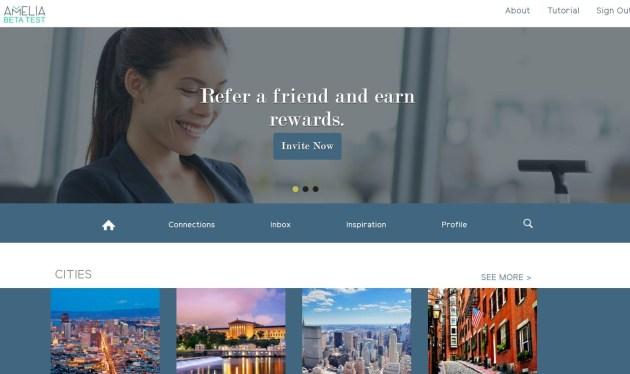 amelia app business travel life 3