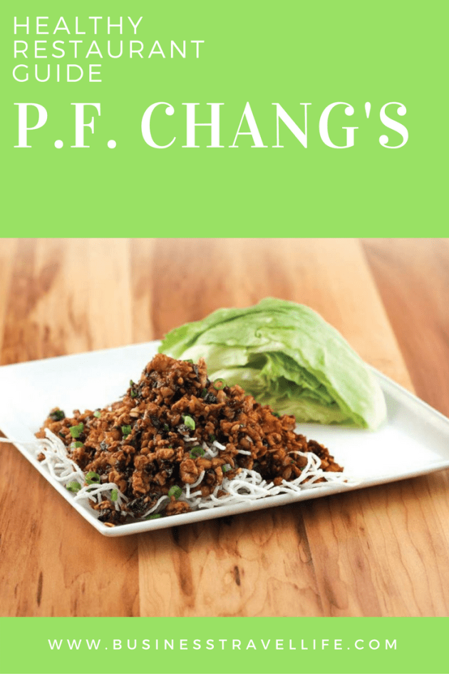 Healthy Options PF Changs