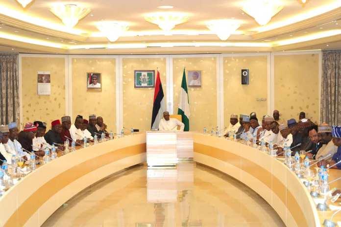 After defections, Buhari meets with APC senators