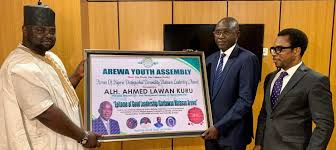AMCON MD Honoured By Arewa Youth Assembly