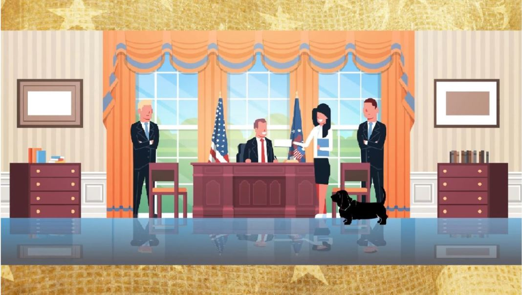 legacy dogs white house