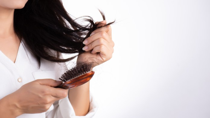 how to stop hair loss from stress