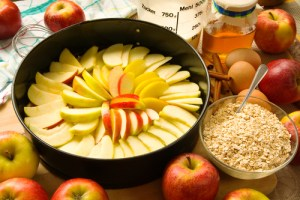 Apple Pie with oats