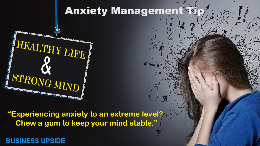 Anxiety Management Tip