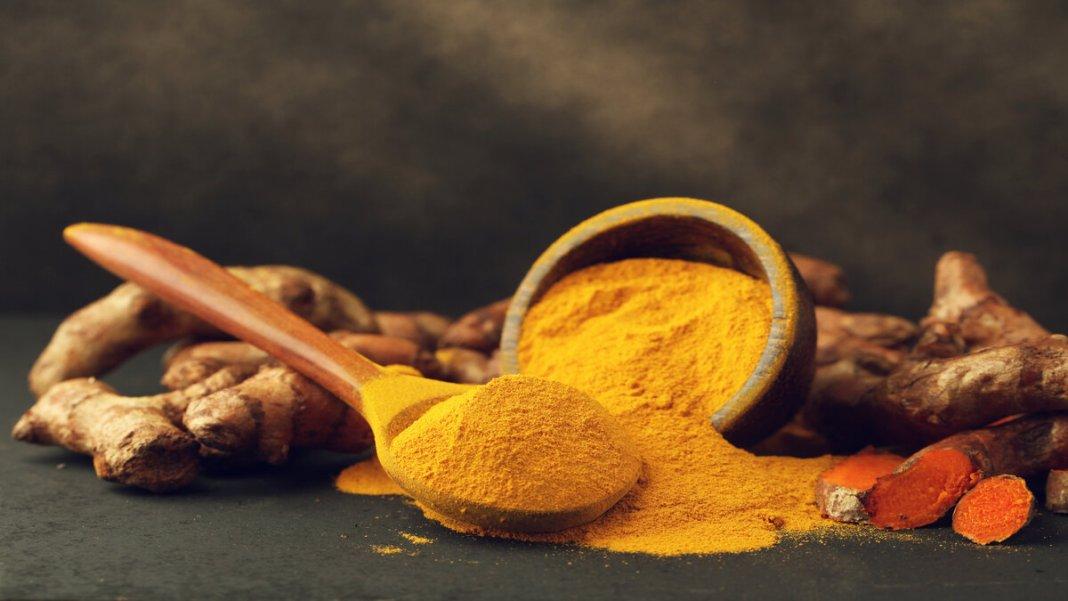 Antioxidants in turmeric
