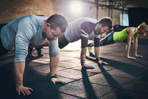 how to build muscle without gym