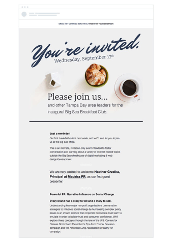 event invitation email examples