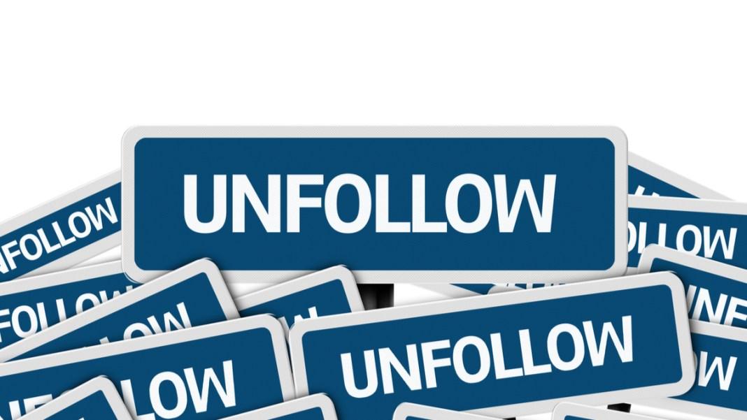 Unfollow on Instagram