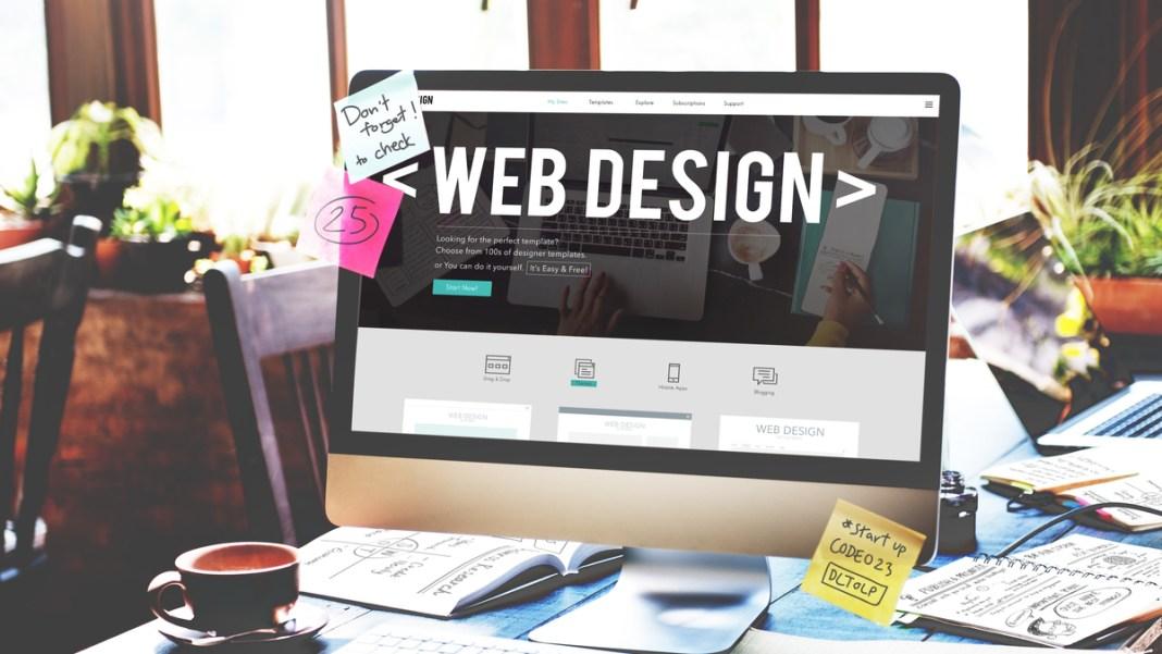 Web design side hustle