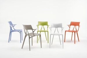 sedia Kartell design e intelligenza artificiale