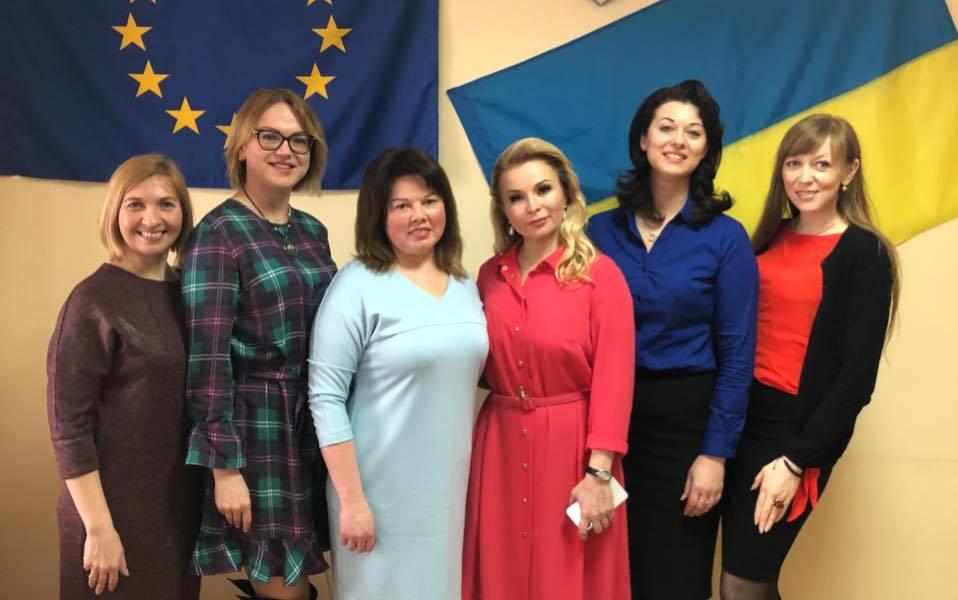 На Київщині відбулась зустріч успішних жінок України