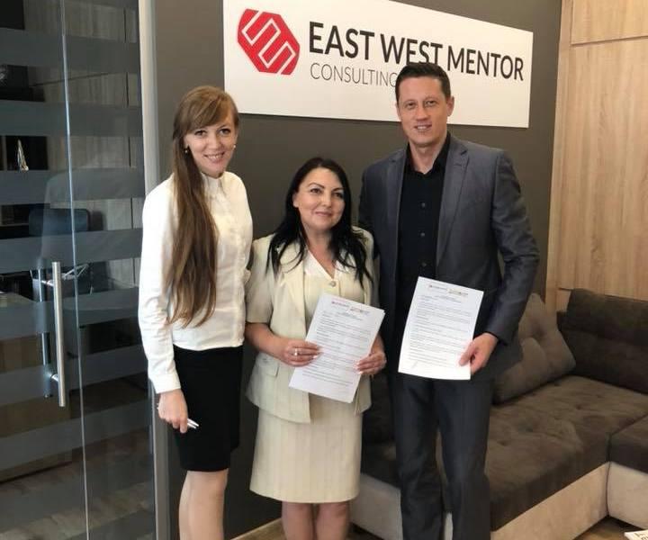 Консалтингова компанія «East West Mentor UA» підписала чергову угоду про співпрацю