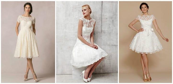Як правильно вибрати коротке весільне плаття