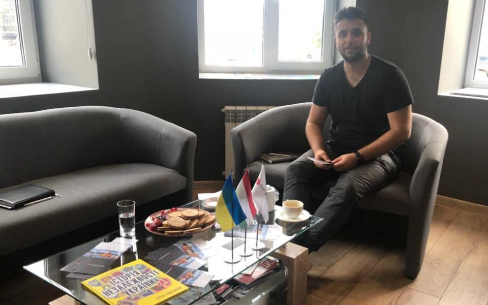 Сергій Зінченко відвідав офіс компанії East West Mentor UA