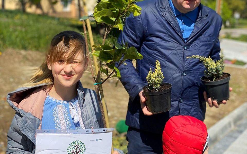 Талановита Анастасія Євдоченко долучилась до проекту «Озеленення України»