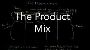 product mix/line strategies-examples-difference