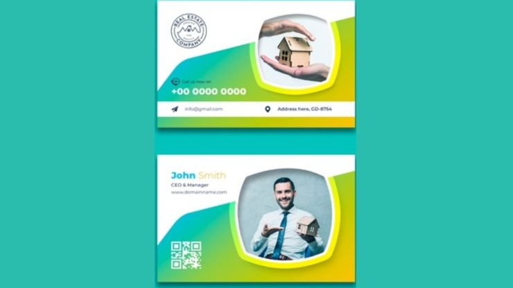 real-estate-business-cards-with-photo