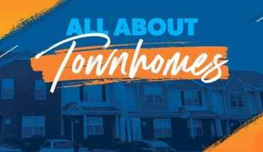 Townhouse vs apartment vs house