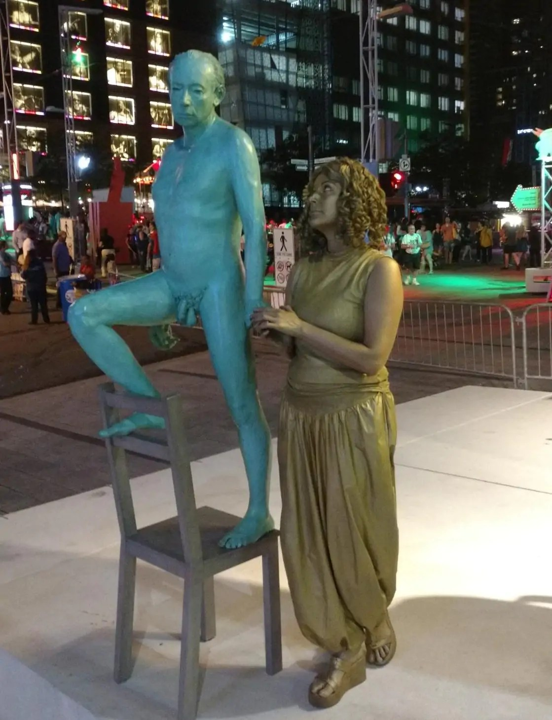 How To Make A Human Statue Costume For Street Performing