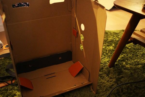 ロボットキット作製風景