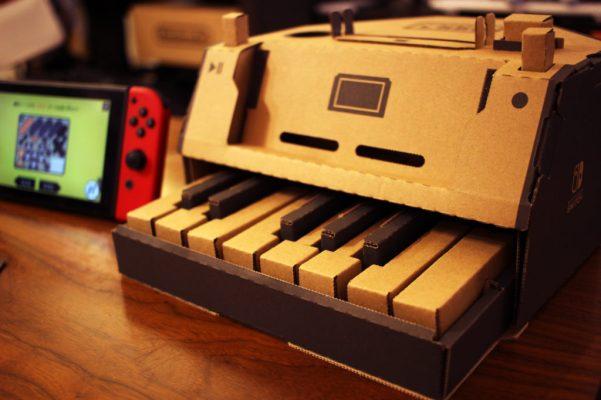 ニンテンドーラボ ピアノ