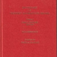 Dictionary Of Western Australians 1829-1914 Volume 1