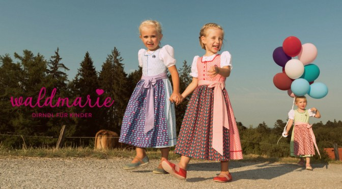 Waldmarie – Kinderdirndl made in Bavaria