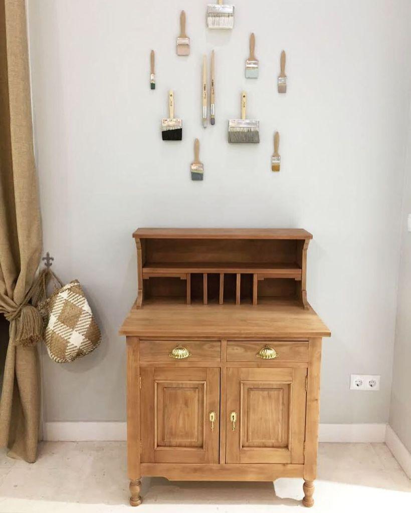 Restauración de un mueble escritorio de cerezo