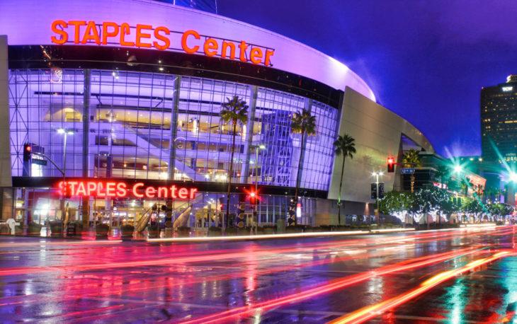 Los Angeles, CA. - November 30, 2014: Staples Center
