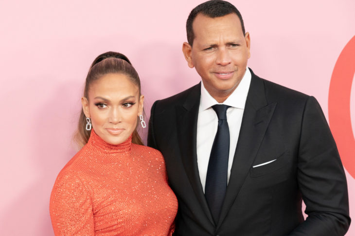 New York, NY - June 03, 2019: Jennifer Lopez and Alex Rodriguez attend 2019 CFDA Fashion Awards at Brooklyn Museum