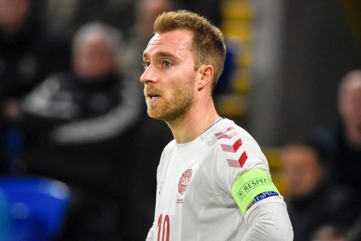 Wales v Denmark, Uefa Nations League, Cardiff City Stadium, 16/11/18: Denmark footballer Christian Eriksen