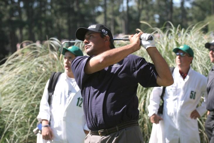 Angel Cabrera at Augusta Masters of golf 2006, Georgia