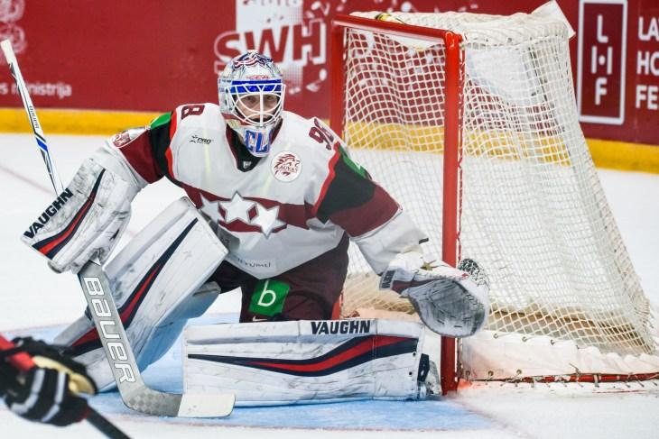 01.05.2018. RIGA, LATVIA. Ice hockey game between team Latvia and team Canada. Arena Riga