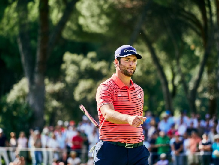 Jon Rahm (Esp) during the Mutuactivos Open de Espana, Golf European Tour on October 6, 2019 at Club de Campo Villa de Madrid in Madrid, Spain - Photo Arturo Baldasano / DPPI