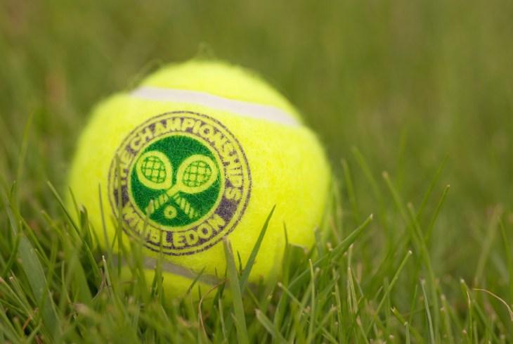 LONDON, ENGLAND-JUNE 22, 2009: Official Tennis ball for tradidional tournament at Wimbledon, London, UK