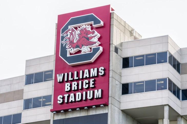 COLUMBIA, SC/USA JUNE 5, 2018: Williams Brice Stadium on the campus of the University of South Carolina.
