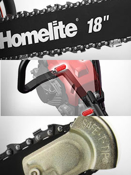 Homelite 18in  Chainsaw: Tool Review | Busted Wallet