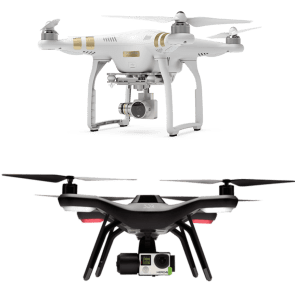 dji phantom 3 professional vs 3dr solo_busted wallet review