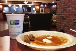 Holiday Inn Express Snoozapalooza Pancakes - Bustedwallet.com