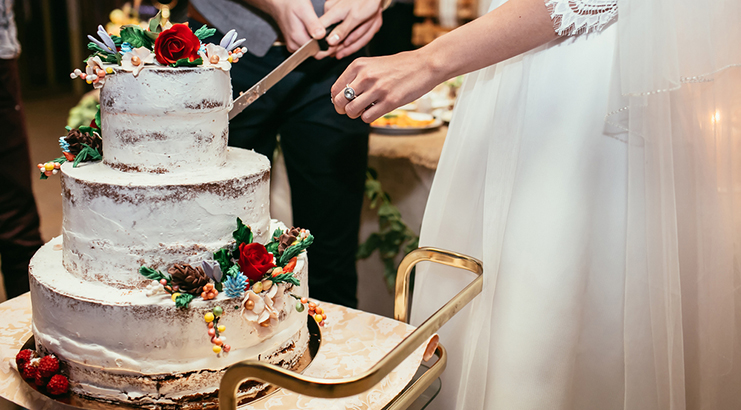 Why Do Wedding Cakes Cost More than Birthday Cakes     Bustld     It s time to book your wedding baker  which is great because who doesn t  love tasting cake    But you might be wondering     Why does this cost so  much