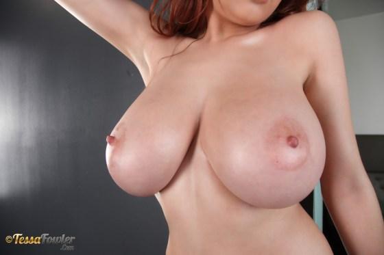 tessa fowler busty redhead carolina huge tits topless southern girl