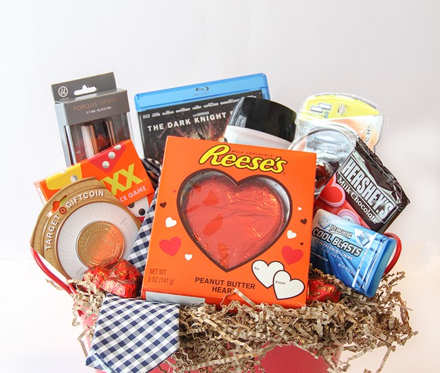 Valentines Day Gift Basket Idea For Him