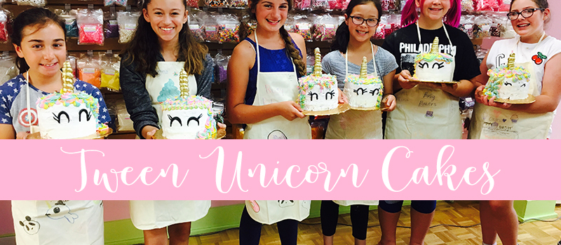 Tween Unicorn Cakes