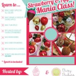 Online Strawberry & Apple Mania Class