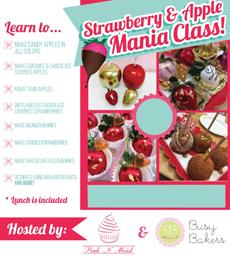 Online Strawberry & Apple Mania Class