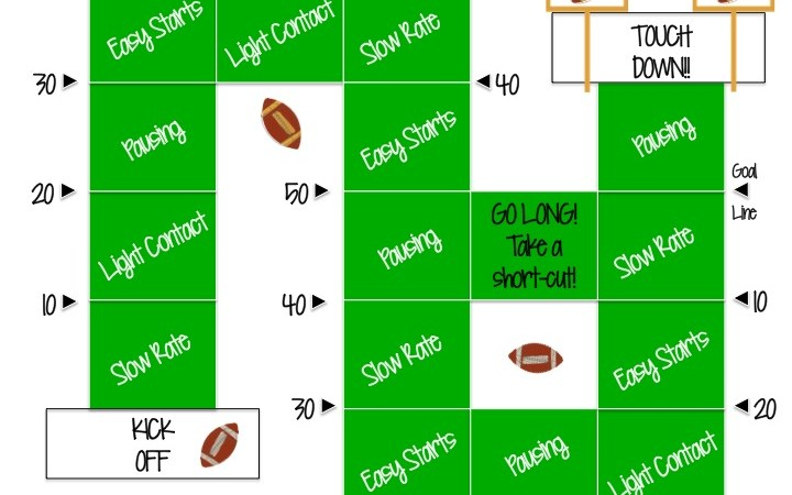 Football Fluency Game :)
