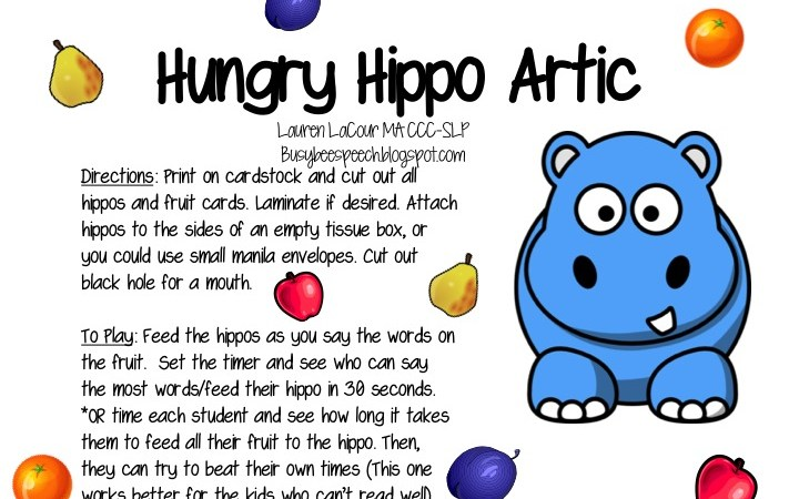 Hungry Hippo Artic Freebie!