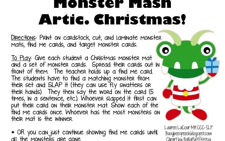 Christmas Monster Mash Artic!